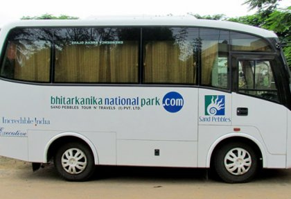 Màighean bus sòghail ann an Odisha