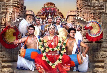 Reise nach Sun Tempel von Odisha