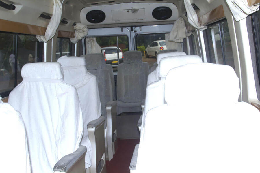 hire 13 seater ac tempo traveller bhubaneswar