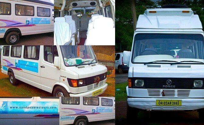 Tempo Traveler Price in Bhubaneswar