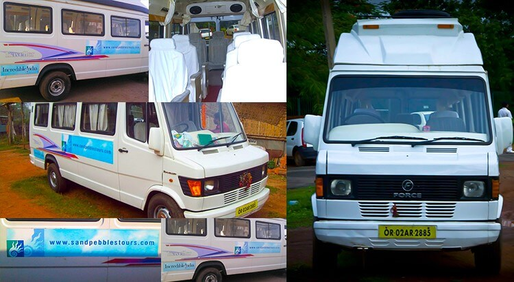 Tempo Traveler Price any Bhubaneswar