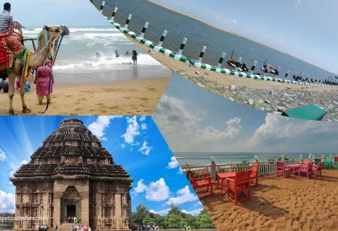 Tours de plage sereine à Odisha