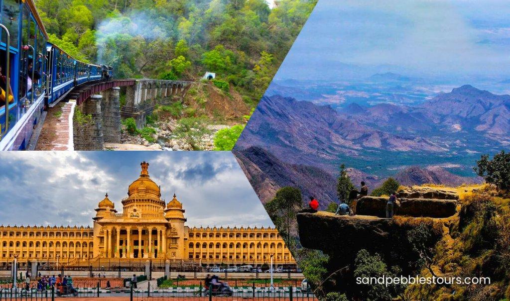 Bangalore Ooty Kodaikanal túra